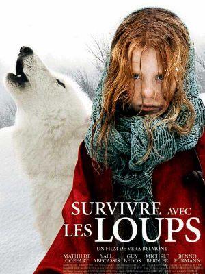 Affiche du film Survivre avec les Loups